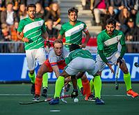 AMSTELVEEN - Billy Bakker (Ned)  tijdens  de tweede  Olympische kwalificatiewedstrijd hockey mannen ,  Nederland-Pakistan (6-1). Oranje plaatst zich voor de Olympische Spelen 2020..   COPYRIGHT KOEN SUYK