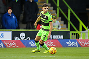 Forest Green Rovers Liam Shephard(2) during the EFL Sky Bet League 2 match between Forest Green Rovers and Northampton Town at the New Lawn, Forest Green, United Kingdom on 1 January 2019.
