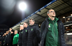 File photo dated 19-11-2018 of Republic of Ireland manager Martin O'Neill (right)