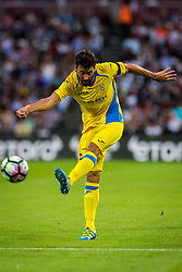 Mario Lucas Horvat of NK Domzale during 2nd Leg football match between West Ham United FC and NK Domzale in 3rd Qualifying Round of UEFA Europa league 2016/17 Qualifications, on August 4, 2016 in London, England.  Photo by Ziga Zupan / Sportida