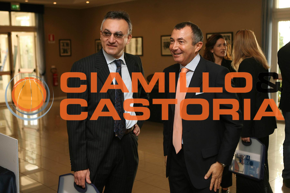 DESCRIZIONE : Bologna Lega A2 2008-09 Presentazione Campionato<br /> GIOCATORE : Franco Lauro Franco Montorro<br /> SQUADRA : <br /> EVENTO : Campionato Lega A2 2008-2009 <br /> GARA : <br /> DATA : 29/09/2008 <br /> CATEGORIA : <br /> SPORT : Pallacanestro <br /> AUTORE : Agenzia Ciamillo-Castoria/M.Marchi<br /> Galleria : Lega Basket A2 2008-2009
