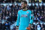 Huddersfield Town goalkeeper Jed Steer during the Sky Bet Championship match between Derby County and Huddersfield Town at the iPro Stadium, Derby, England on 5 March 2016. Photo by Aaron Lupton.