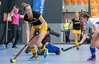 ROTTERDAM  - NK Zaalhockey .Kampong D1-Den Bosch D1 dames voor brons. Simone Hefting (Den Bosch)     COPYRIGHT KOEN SUYK
