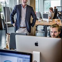 Nederland, Amsterdam, 22 september 2016.<br />De rubriek In Bedrijf, van Jortt, een bedrijf dat de boekhoudmarkt voor MKB'ers op zijn kop wil zetten. Op de foto: Eigenaar heet Hilco de Roo.<br /><br /><br /><br />Foto: Jean-Pierre Jans