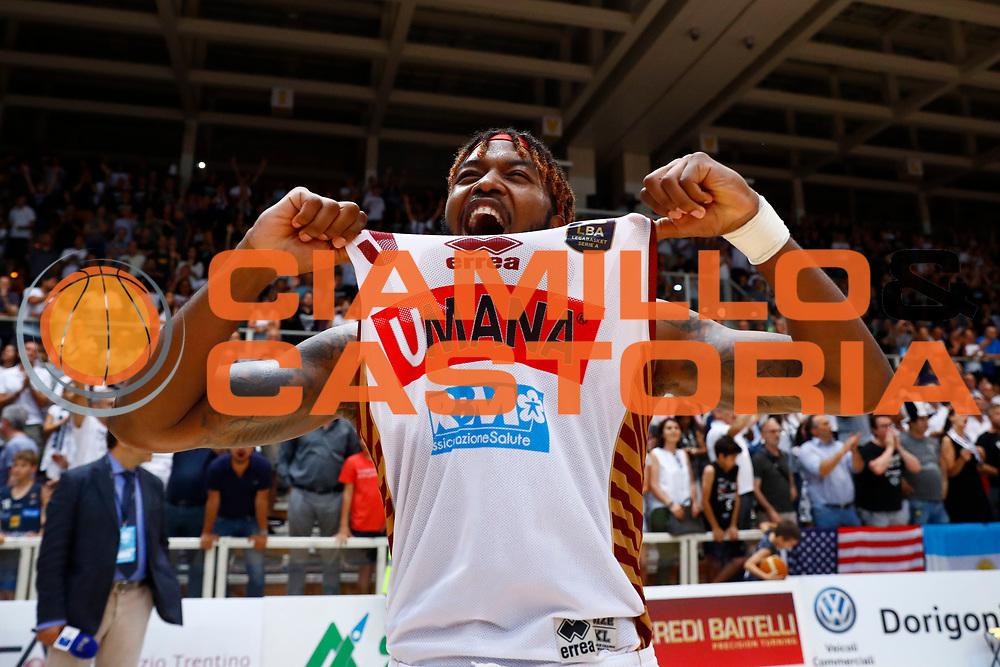 Ejim Melvin<br /> Dolomiti Energia Trento - Umana Reyer Venezia<br /> Lega Basket Serie A 2016-2017<br /> Playoff FINALE Gara 6<br /> Avellino 20/06/2017<br /> Foto Ciamillo-Castoria