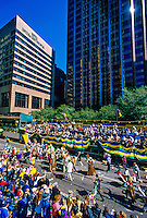 Rex Parade, Mardi Gras, St. Charles Avenue, New Orleans, Louisiana USA