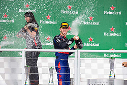 November 17, 2019, Sao Paulo, Sao Paulo, Brazil: PIERRE GASLY, of Toro Rosso Honda 2nd place of the Formula One Grand Prix of Brazil 2019 at Interlagos circuit, in Sao Paulo, Brazil, on Sunday, November 17. (Credit Image: © Paulo Lopes/ZUMA Wire)