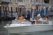 GIANNI GIRAFFE,  GRAND CANAL, Venice. 9 May 2015