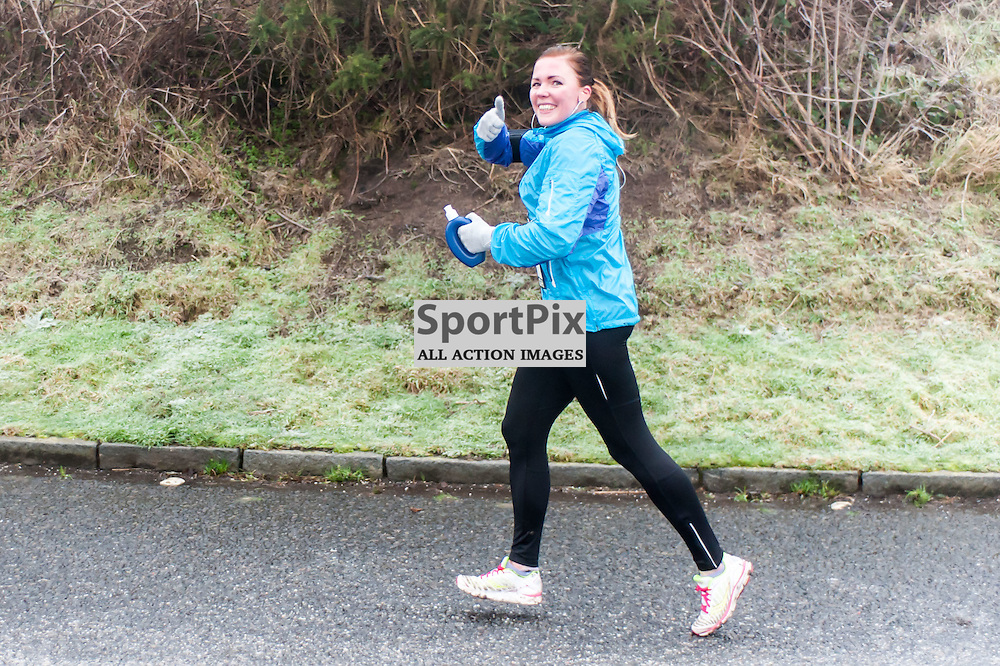 Action from the PureGym Great Edinburgh Winter Run.(c)  Paul Roberts | SportPix.org.uk