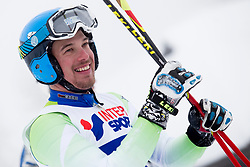 Saso Ales of Slovenia during FIS World Cup Telemark Krvavec 2018, on February 8, 2018 in RTC Krvavec, Crklje na Gorenjskem, Slovenia. Photo by Urban Urbanc / Sportida