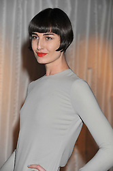 ERIN O'CONNOR at a dinner hosted by Calvin Klein Collection to celebrate the future Home of The Design Museum at The Commonwealth Institute, Kensington, London on 13th October 2011.