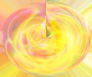 """""""Golden Birth"""" ~ Birth of a Light Being.  © Laurel Smith"""