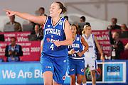 DESCRIZIONE : Chieti Italy Italia Eurobasket Women 2007 Grecia Italia Greece Italy <br /> GIOCATORE : Kathrin Ress <br /> SQUADRA : Nazionale Italia Donne Femminile <br /> EVENTO : Eurobasket Women 2007 Campionati Europei Donne 2007<br /> GARA : Grecia Italia Greece Italy <br /> DATA : 25/09/2007 <br /> CATEGORIA : Esultanza <br /> SPORT : Pallacanestro <br /> AUTORE : Agenzia Ciamillo-Castoria/S.Silvestri <br /> Galleria : Eurobasket Women 2007 <br /> Fotonotizia : Chieti Italy Italia Eurobasket Women 2007 Grecia Italia Greece Italy <br /> Predefinita : si