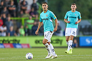 Forest Green Rovers Lloyd James(4) during the EFL Sky Bet League 2 match between Forest Green Rovers and Stevenage at the New Lawn, Forest Green, United Kingdom on 21 August 2018.