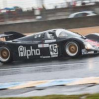 #45 Porsche 962, Legends Race, Le Mans 24H, 2012