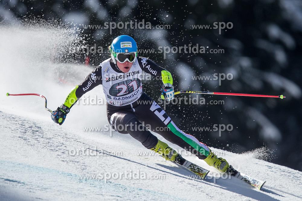 06.03.2015, Kandahar, Garmisch Partenkirchen, GER, FIS Weltcup Ski Alpin, Abfahrt, Damen, 1. Trainingslauf, im Bild Verena Stuffer (ITA) // Verena Stuffer of Italy during 1st training run for the ladie's Downhill of the FIS Ski Alpine World Cup at the Kandahar course, Garmisch Partenkirchen, Germany on 2015/03/06. EXPA Pictures © 2015, PhotoCredit: EXPA/ Johann Groder
