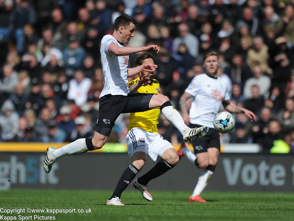 Raul ABENTOSA Derby County, Derby County v Brentford, Sy Bet Championship, IPro Stadium, Saturday 11th April 2015. Score 1-1,  (Bent 92) (Pritchard 28)<br /> Att 30,050