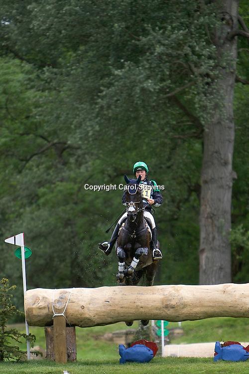 Equi-Trek Bramham International Horse Trials 2012  CIC3*<br /> Kathryn Robinson and Let It Bee (CAN)
