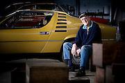 Vintage Alfa restorer Fred Lennard.