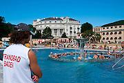 Strandbad, Baden bei Wien, Niederösterreich, Österreich .|.Strandbad, Baden, Niederösterreich, Austria..