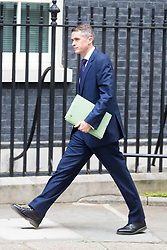 © Licensed to London News Pictures. 12/06/2017. London UK. Chief whip of the Conservative party Gavin Williamson arrives at Downing Street ahead of Theresa May's first Cabinet meeting since the General Election this afternoon. Photo credit: Andrew McCaren/LNP