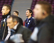 Dundee manager Barry Smith - Motherwell v Dundee at Fir Park in the Clydesdale Bank Scottish Premier League.. - © David Young - www.davidyoungphoto.co.uk - email: davidyoungphoto@gmail.com
