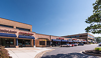 Galleria Atrium exterior image in Towson Maryland by Jeffrey Sauers of Commercial Photographics, Architectural Photo Artistry in Washington DC, Virginia to Florida and PA to New England