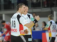 Handball EM Herren 2010 Vorrunde Deutschland - Polen 19.01.2010 Michael Kraus (GER) jubelt