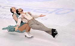 27.03.2010, Torino Palavela, Turin, ITA, ISU World Figure Skating Championships Turin 2010, Ice dance free dance, im Bild Federica Faiella e Massimo Scali (ITA). EXPA Pictures © 2010, PhotoCredit: EXPA/ InsideFoto/ Perottino / SPORTIDA PHOTO AGENCY