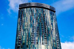 Holloway Circus Tower, a 427-foot (130 m) tall mixed-use skyscraper in Birmingham city centre, England UK<br /> <br /> (c) Andrew Wilson | Edinburgh Elite media