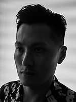 Portrait of Hongkong based soundartist Samson Young
