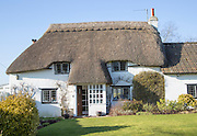 Property Released - Pretty thatched Country cottage, Cherhill, Wiltshire, England, UK