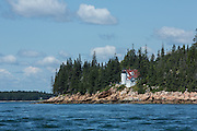 Mount Dessert Island, ME - 9 August 2014. Bass Harbor Head Light.