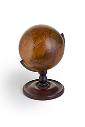 antique globe a three-dimensional scale model of Earth