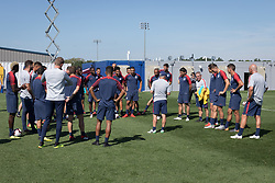 September 4, 2018 - Whippany, NJ, USA - Whippany, NJ - Tuesday September 4, 2018: The USMNT train in preparation for their match versus Brazil. (Credit Image: © John Dorton/ISIPhotos via ZUMA Wire)