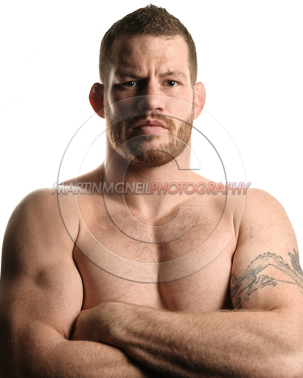 A portrait of mixed martial arts athlete Nate Marquardt