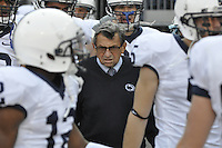 Penn State head coach Joe Paterno before the Ohio State vs Penn State game on Nov. 13, 2010 at Ohio Stadium in Columbus, Ohio.