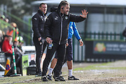 Forest Green Rovers assistant manager, Scott Lindsey during the EFL Sky Bet League 2 match between Forest Green Rovers and Notts County at the New Lawn, Forest Green, United Kingdom on 10 March 2018. Picture by Shane Healey.