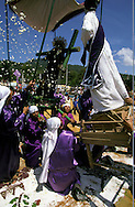 = Easter procession in San Felipe Tepejac  Chiapas  Mexico /// p,ques a San Felipe Tepejac  Chiapas  Mexique chemin de croix +