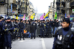 Demonstration before the Kurdish Information Office in Paris, France, January 10, 2013. Photo by Imago / i-Images...UK ONLY