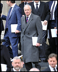 Neil Hamilton attends Lady Thatcher's funeral at St Paul's Cathedral following her death last week, London, UK, Wednesday 17 April, 2013, Photo by: Andrew Parsons / i-Images