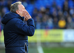 Cardiff City manager Neil Warnock shouts- Mandatory by-line: Nizaam Jones/JMP - 17/02/2018 -  FOOTBALL - Cardiff City Stadium - Cardiff, Wales -  Cardiff City v Middlesbrough - Sky Bet Championship