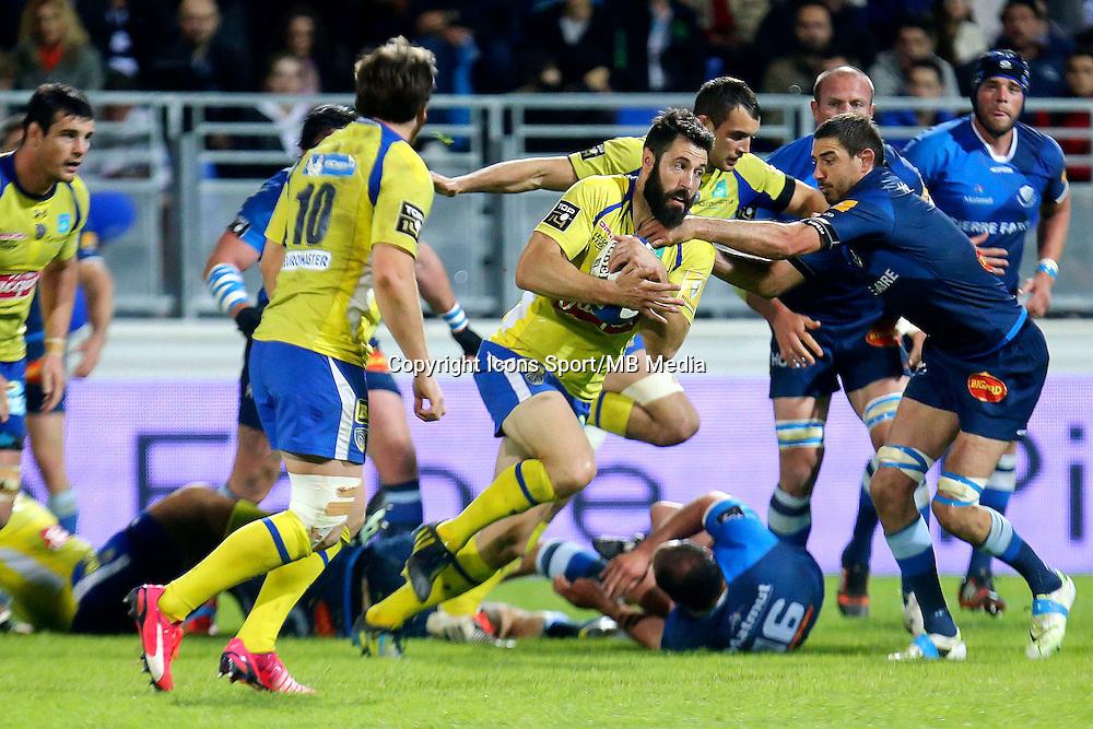 Julien Malzieu - 25.04.2015 - Castres / Clermont - 23eme journee de Top 14<br />Photo : Laurent Frezouls / Icon Sport