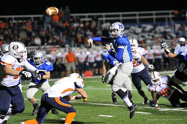 Midview vs Berea-Midpark varsity football on November 1, 2013. Images © David Richard and may not be copied, posted, published or printed without permission.