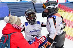 Super Combined and Super G, SCHAFFELHUBER Anna, LW10-2, GER, FORSTER Anna-Lena, LW12-1 at the WPAS_2019 Alpine Skiing World Championships, Kranjska Gora, Slovenia