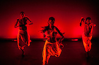 Dancers message - you have no choice, to run away is to invite trouble.<br /> Choreographic message - strength in our roots.
