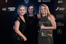 Alenka Teran Kosir, Mojca Finc and Polona Marincek during Slovenian Sports personality of the year 2019 annual awards presented on the base of Slovenian sports reporters, on December 17, 2019 in Cankarjev dom, Ljubljana, Slovenia. Photo by Grega Valancic / Sportida