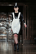 Models on the catwalk for Pam Hogg in London, part of London Fashion Week ss14 on Monday 15 September, 2013.
