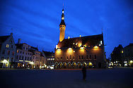 Town Hall, Old Town, Tallinn, Estonia