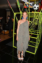 TIPHAINE DE LUSSY at a dinner at The Bulgari Hotel, 171 Knightsbridge to celebrate The London Design Festival on 13th September 2016.